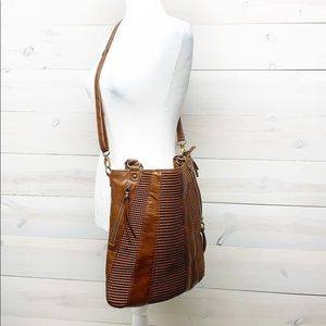 Brown Adjustable Crossbody Bag